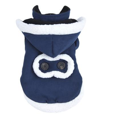 Pet Suede Fabric Clothes Autumn Winter Clothing For Pet Dog Deerskin Fur Winter Clothes The High Quality Suede Fabric Pet Clothes