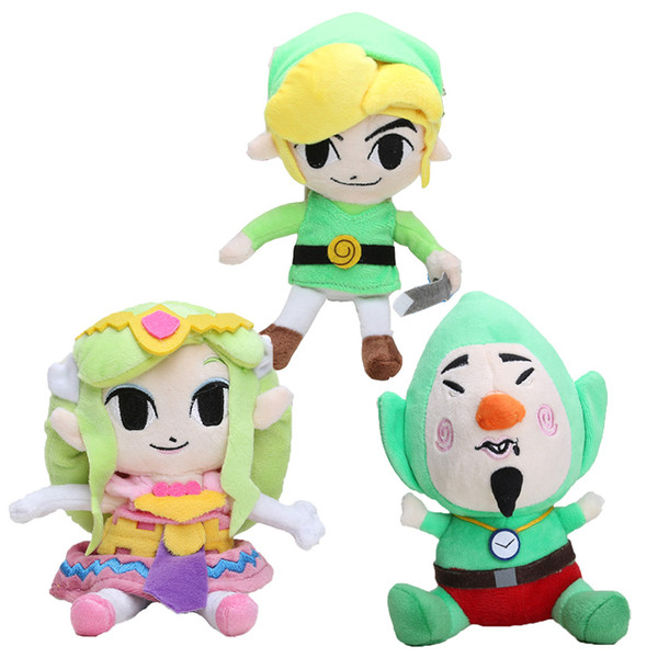 2019 The Legend Of Zelda Plush Toys Soft Toys Children 820cm Wind Waker Link Princess Plush Little Buddy Tingle Stuffed Toy Doll From Moonstoneyy