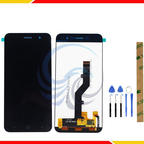 Tested LCD Display Screen For ZTE Blade A520 LCD Display With Touch Screen Complete assembly