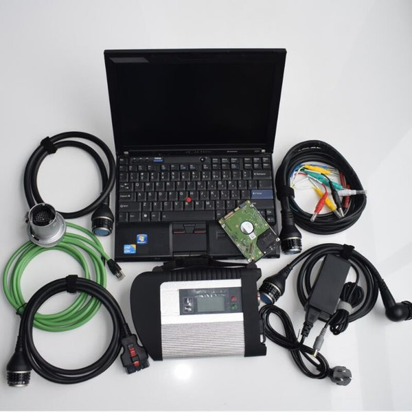 for mb star c4 scanner laptop x201t i7 4g toughbook touch screen hdd 320 gb dhl free shipping