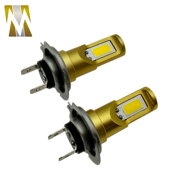 2019 20W H7 Led Car Lights 12V LED Bulb Yellow Fog Lights H8 H11 Car  Headlight Automobiles H4 DRL Daylight Kit Car Styling 3000K From Goree86,  $9 05 |