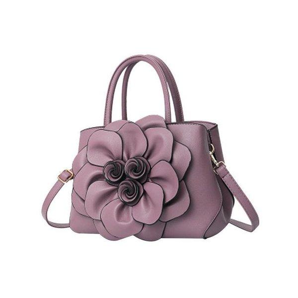 Frauen Sling Schulter Elegante Tasche Große Klassische 3d Blume Europäischen Und Amerikanischen Große Handtaschen Handtasche Tote Crossbody Damen Tasche