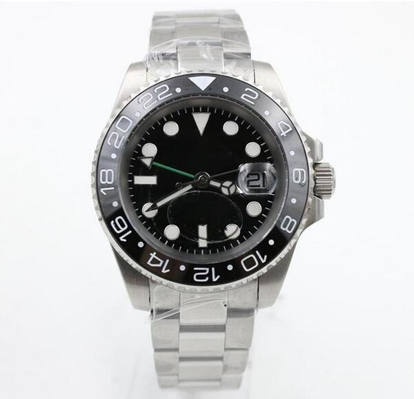 Luxury brand men's watch sapphire glass ceramic frame stainless steel automatic mechanical movement buckle men's watch the best gift