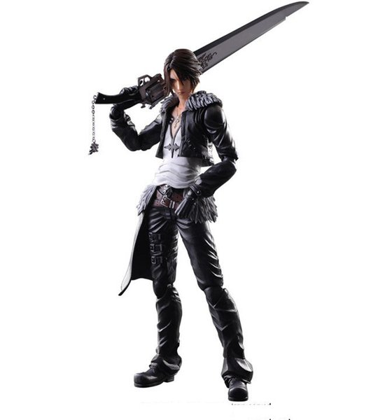 Play Arts Kai Final Fantasy 8 Squall Leonhart PVC Action Figure Movable Model Collectible Toy Free Shipping Good Quality