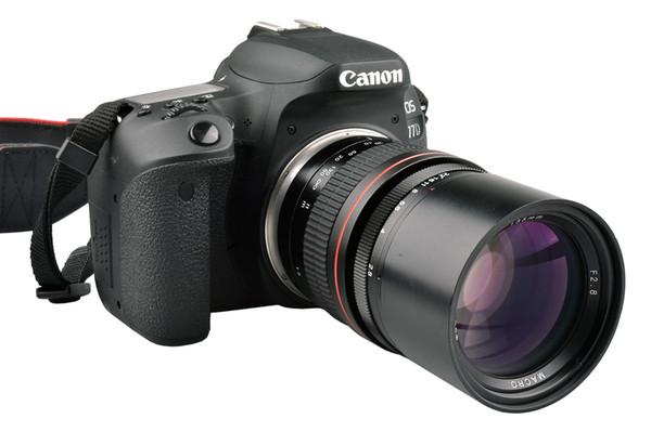 135mm F2.8 Telephoto Prime Lens for Canon EOS 1300D 6D 77D 760D 800D 60D 70D 80D Nikon D810 D850 DSLR Camera Lens
