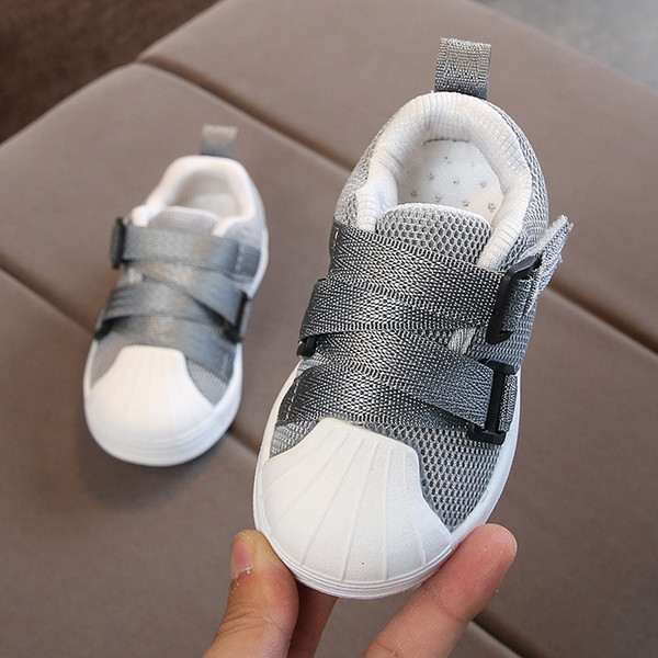 New 2018 European high quality Sports running children casual shoes cartoon animation baby girls boys shoes Lovely kids sneakers