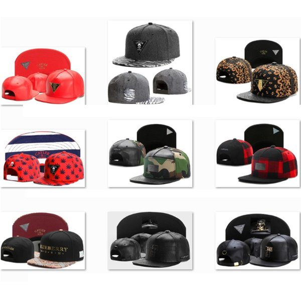 Designer Cayler & Sons Snapbacks Outdoor Baseball Caps Men Luxury Baseball Hats Leather Hats Trucker Hat Cheap Snap Backs gorras Caps CS7