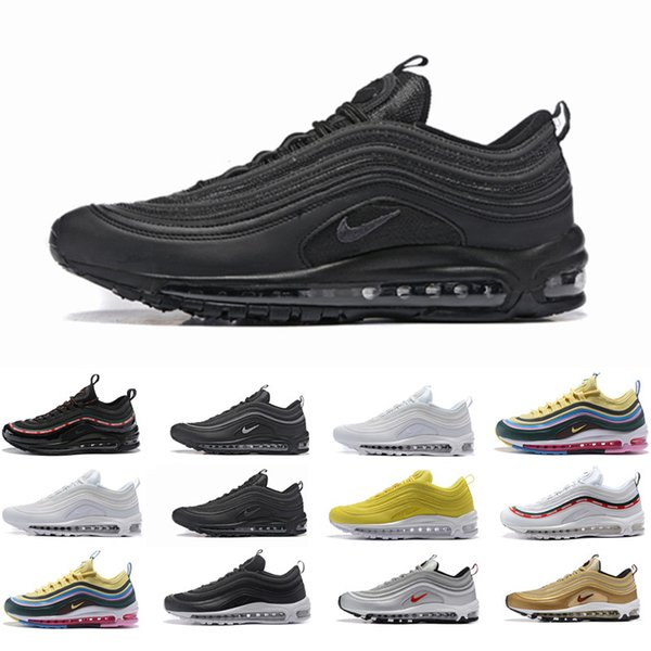 nike air max 97 uomo triple nero