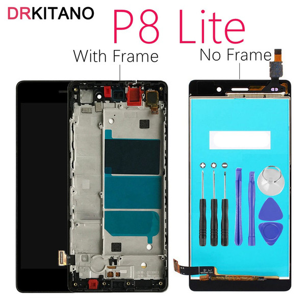 "Huawei P8 Lite LCD Display Touch Screen For 5.0"" Huawei P8 Lite LCD With Frame P8Lite ALE-L04 ALE-L21 Screen Replacement Parts"