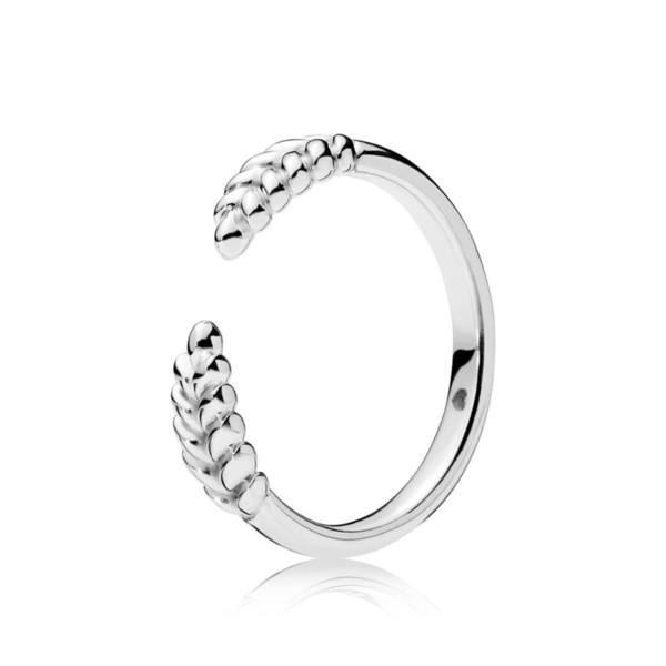 CHAMSS 19 Jahre Neue 925 Sterling Silber Offene Körner Ring Freundin Jahrestag Modeschmuck Geschenk Freies Verschiffen 197699