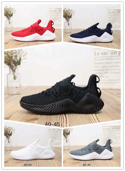 2019 Alphabounce Além MInstinct ccm v4 CC M Paul Pogba causal sapatos de Treinamento Respirável Além de W Preto Mens Mulheres Sneakers
