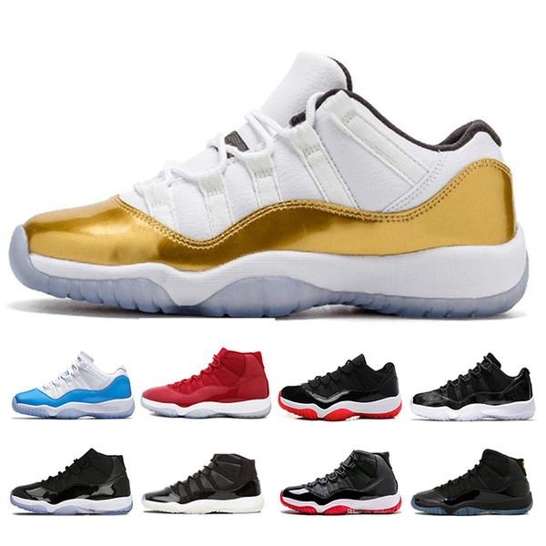 11 s Basketbol Ayakkabı Yeni Concord Platin Ton Tasarımcı Sneakers XI Chicago Space Jamed Getirdi Kadın Spor Sneakers Boyutu 36-47