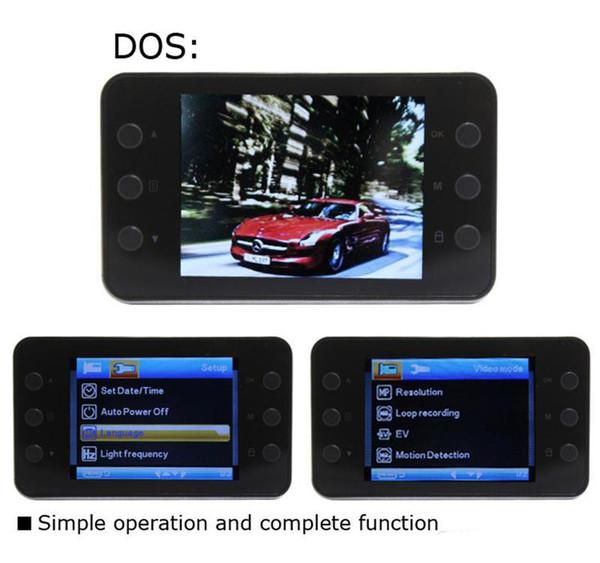 DVR K6000 NOVATEK 1080P Full HD LED Night Recorder Dashboard Vision Veicular Camera dashcam Carcam video Registrator Car DVR