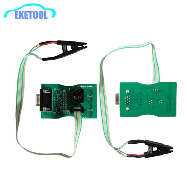 8 Pin Exempt Disassembly Adapter Works Together CGDI For BMW Supports Xprog V5.60/V5.70/V5.74/V5.84 UPA Green V1.3 Free Shipping