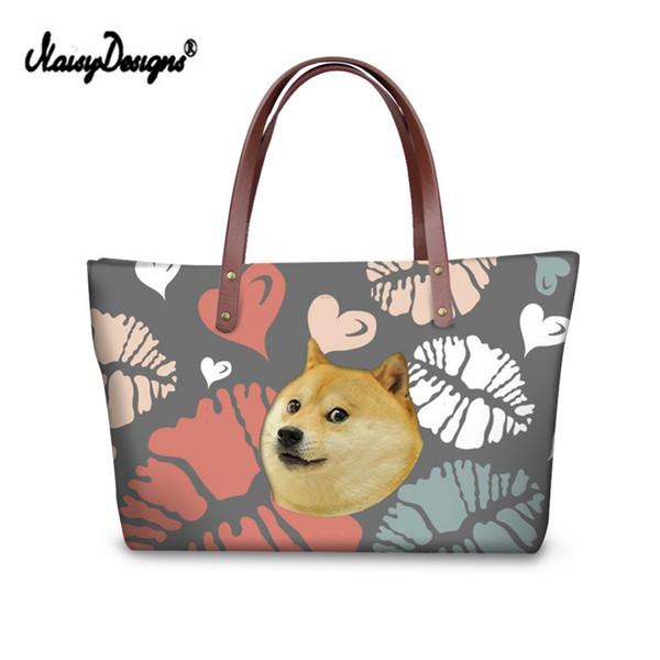 New Siberian Husky Shopping bag Handbag for Best Friends Handbag Hot Clutch Boxer Luxury Handbags Women Shopping Bags Designer