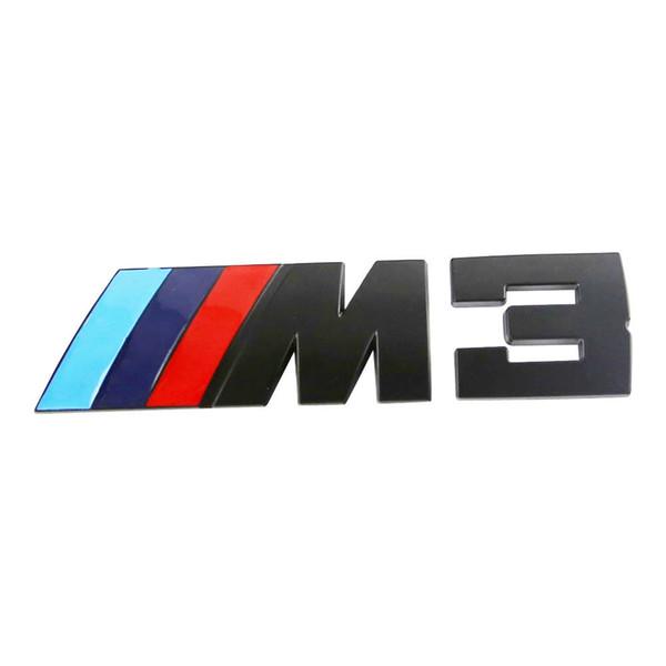 3D rozeti /// M3 Güç Arka Amblem Araba Çıkartmaları Çıkartması Logo Krom BMW M3 serisi Için
