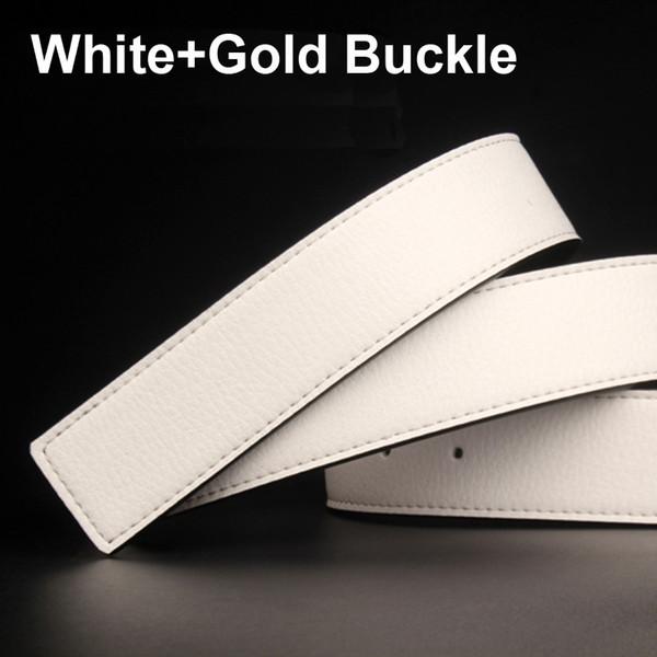 أبيض + الذهب مشبك