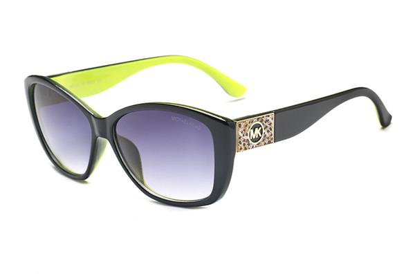 Lunettes de soleil de luxe pour hommes marque Design mode lunettes de soleil Wrap Lunettes de soleil Revêtement Miroir Couleur des verres Jambes Lunettes de soleil D'été