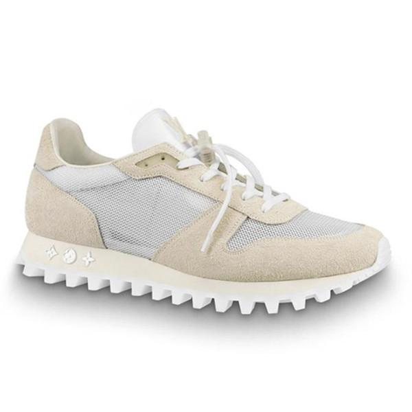 Runner Sneaker Mens Calçados Esportivos Apartamentos Tênis Moda Ao Ar Livre Respirável Footwears Formadores com Caixa de Origem Zapatos de hombre Moda Sapato