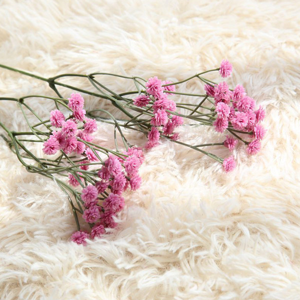 90 Heads Gypsophila Office Home Wedding Photography Props Artificial Flower Plastic Party Crafts Decorative DIY Garden Gift