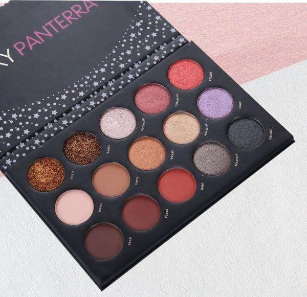 2019 Lexy Panterra 15 Couleur Ombre À Paupières Mat Palette Ombre À Paupières Cosmétique Maquillage Ombre À Paupières pour Femmes Beauté Ombres À Paupières