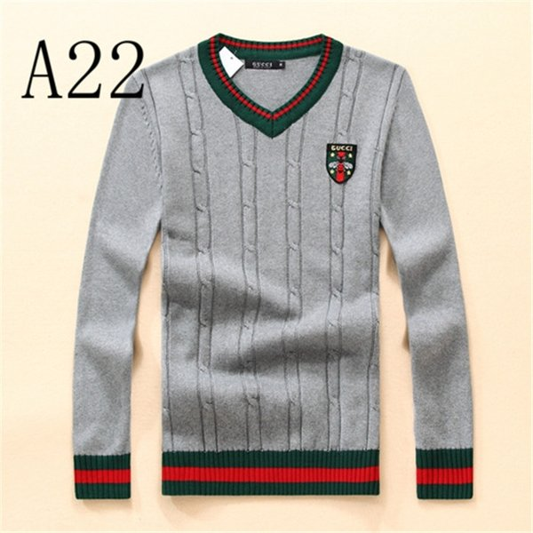 Luxury Sweater Fashion Men Women Designers Sweater Pullover Long Sleeve Letter Print Couple Sweater Free Shipping 11