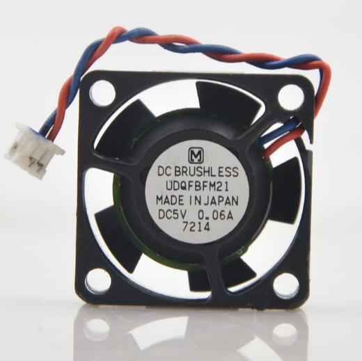 2.5cm UDQFBFM21 5V 0.06A 2510 two-line car CD display card hard disk mute fan