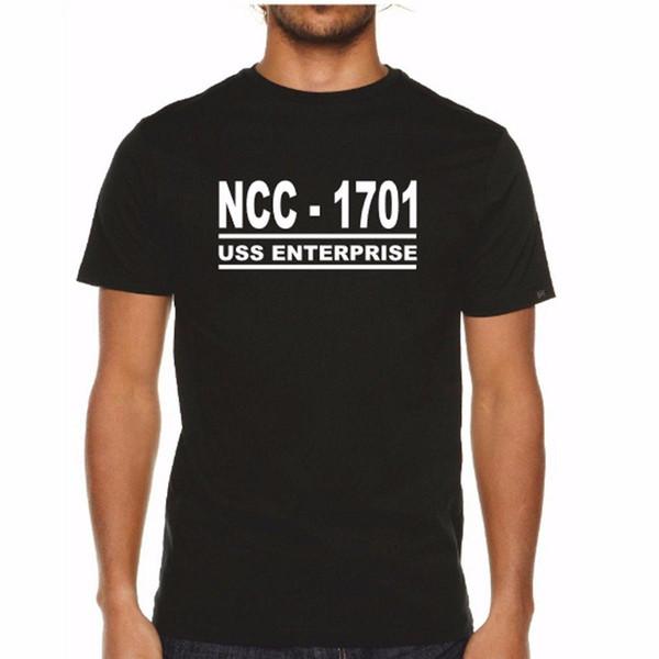 NCC 1701 TShirt - USS Enterprise Star Trek Spock Captain Kirk Present Gift