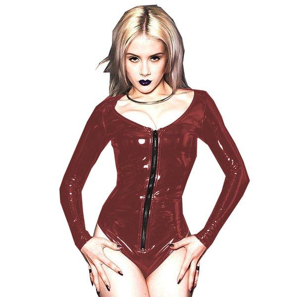 Dark red(Black zipper)