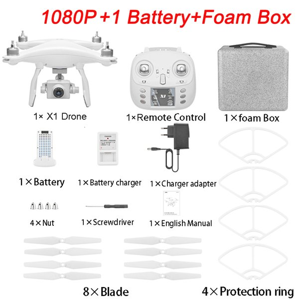 1080P 1 Battery