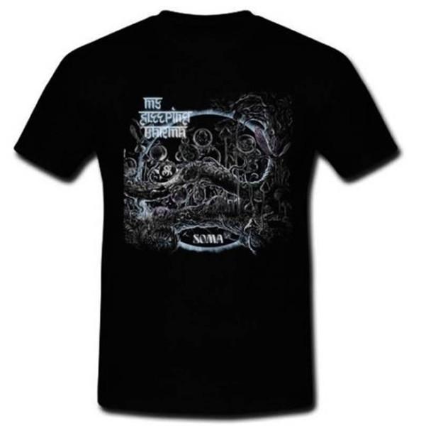 T-shirt Design T-shirt O-Cou Hommes À Manches Courtes Meilleur Ami Mon Karma Soma Sleeping Chemises Psychédéliques