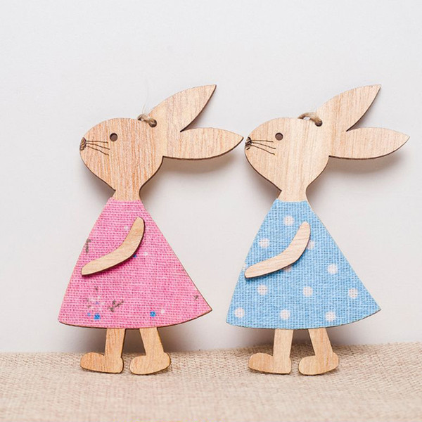 10 Blank Wooden Happy Easter Egg Embelishment Scrapbooking Craft Card making