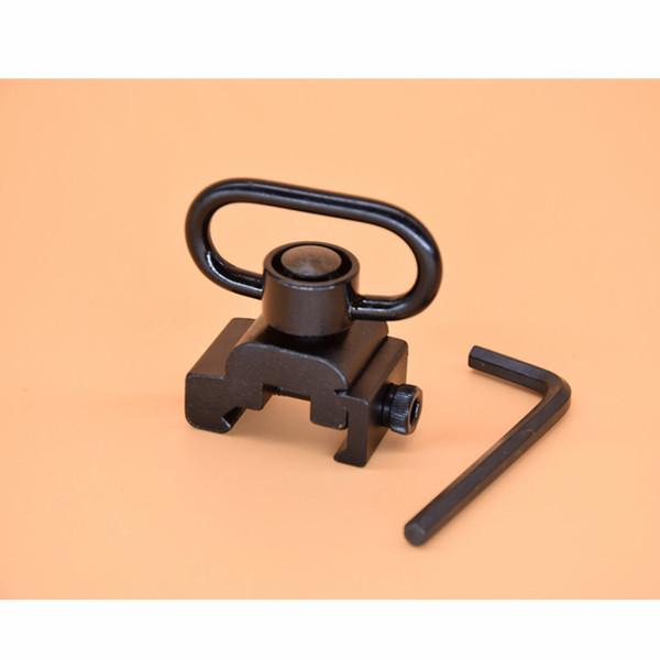 QD Quick Release Sling Swivel Mount fit 20mm picatinny rail black