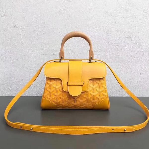 Berühmte Designer-Frauen-Handtaschen-Schulter-Beutel-Qualitäts-echtes Leder-Kurier-Sattel-Beutel-Luxus Gayardbag Goya
