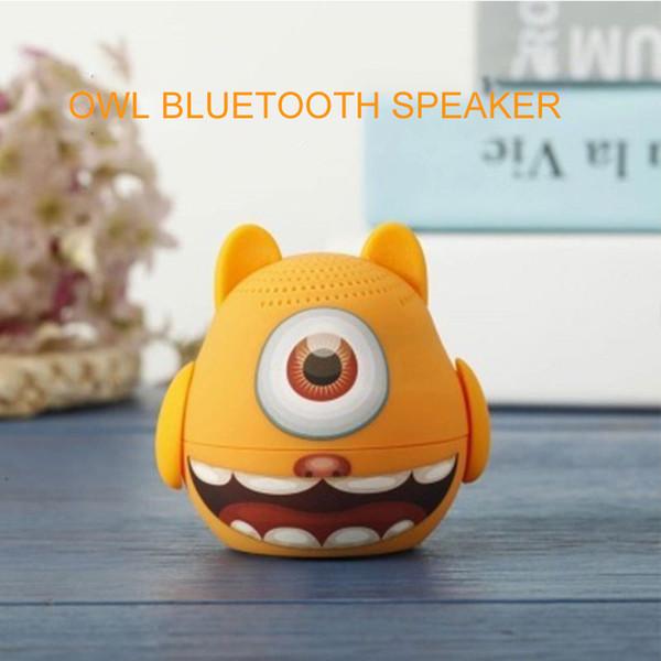 JS Intelligence Bluetooth 4.2 Speakers Traveling Music Walkman Speakers Portable Desktop Microphon Cartoon Boy Loudspeaker Box