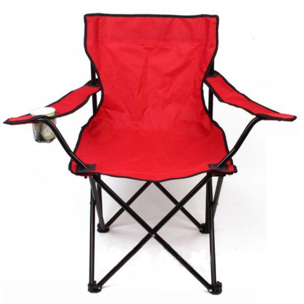 Beweglicher im Freien faltender Strand-kampierender Stuhl mit Becherhalter-Fischen-Zusatz FCC001