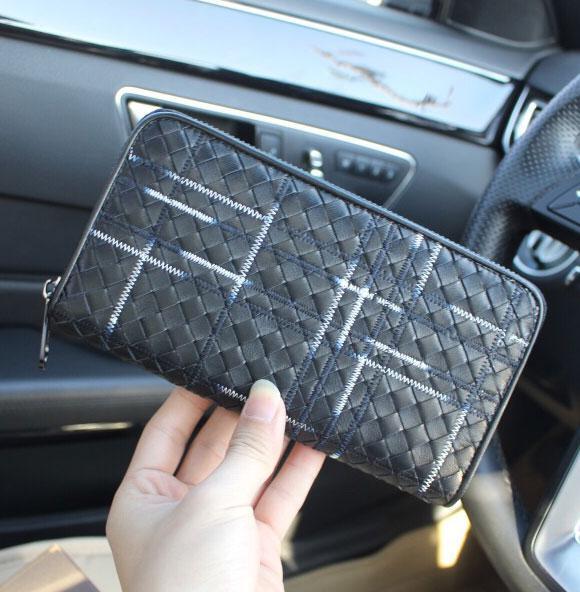 Designer carteira, zíper preto carteira, novas bolsas de grife, bolsa de moda de luxo, frete grátis em todo o mundo, venda direta da fábrica