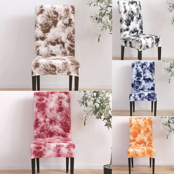 Couvertures de chaise pour banquet de mariage d'étirement de partie de voûte plate de salle à manger tissu élastique