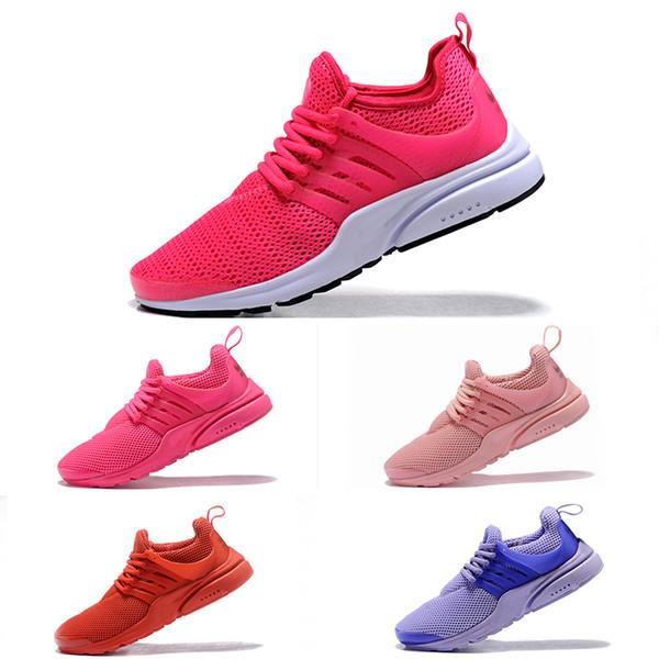Nike Air Presto II Herren Schwarz Schwarz Rot : Damen