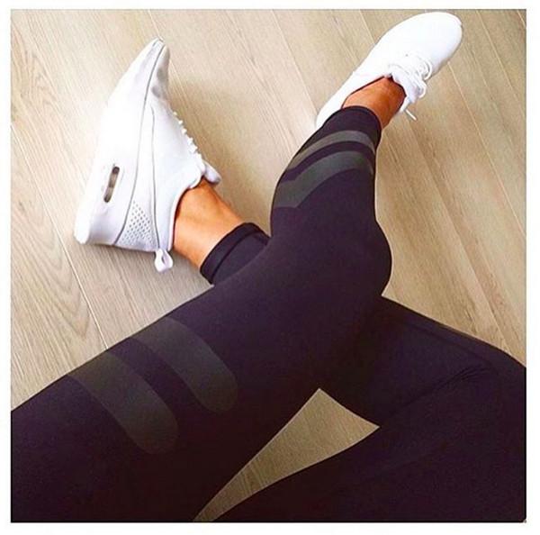 2019 Fashion Pop Gel Calzoncillos deportivos para mujeres Pantalones de yoga Transporte gratuito