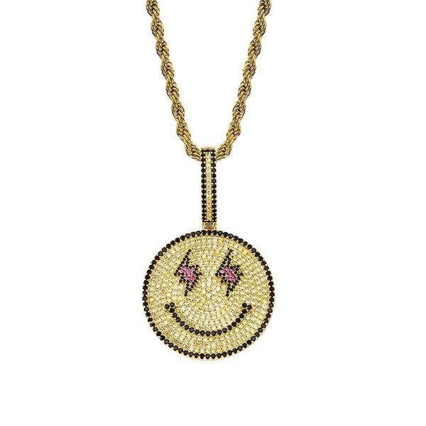 Oro con cadena de cuerda de 20 pulgadas