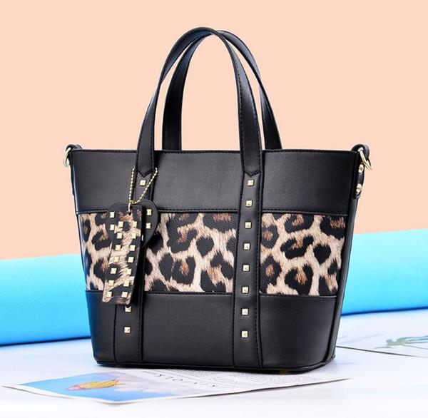 Moda Tote Çanta Çanta Presbiyopi Toptan Leopar Büyük Dize Çanta Omuz Çantası Çapraz Paket Kadın çantaları
