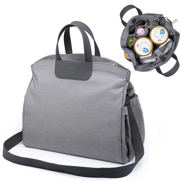 2019 Portable Office Worker Bag For Baby Mom Mummy Diaper Bag Baby Care Large Nursing Travel Stroller Bags Nappy Maternity Bolsa