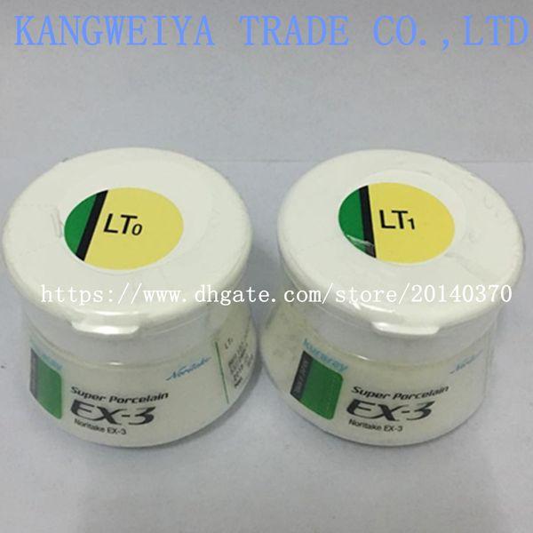 top popular Dental denture lab laboratory material Noritake EX-3 porcelain powder ex3 luster LT0 LT1 genuine original ceramics 50g 2021