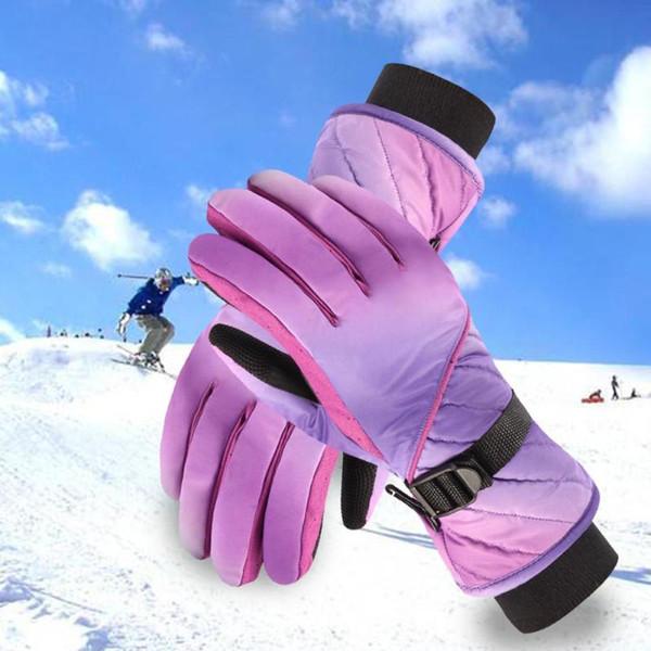 Warm Waterproof Winter Ski Gloves Snowboard Gloves Cold Snow Skiing Mittens 2019