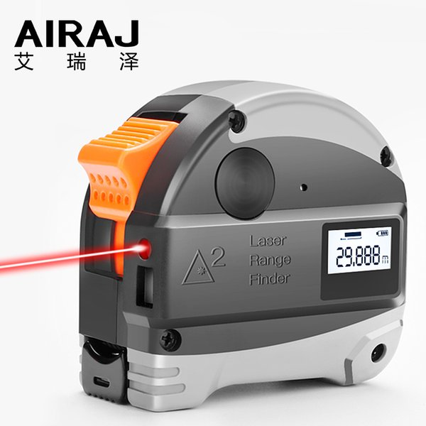 Aira Laser два-в-одном рулетка инфракрасный лазерный электронный цифровой дисплей диапазон многофункциональный измерительный инструмент T8190619