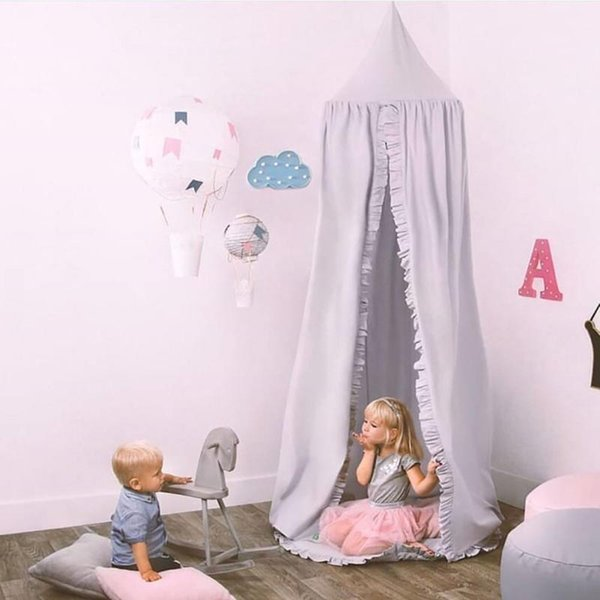 New Cotton Baby Canopy Mosquito Net Anti Mosquito Princess Bed Canopy Girls  Room Decoration Bed Pest Control Reject Net Mosquito Net Fabric Folding ...