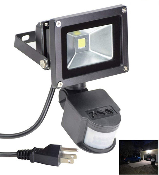 LED Motion Sensor Spotlight 10W 20W 30W 50W LED Flood Lights PIR Floodlights