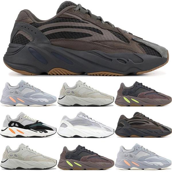 New Wave Runner Кроссовки Мужчины Женщины Высочайшее Качество Kanye West Дизайнерские Кроссовки мода роскошные мужские женские дизайнерские сандалии