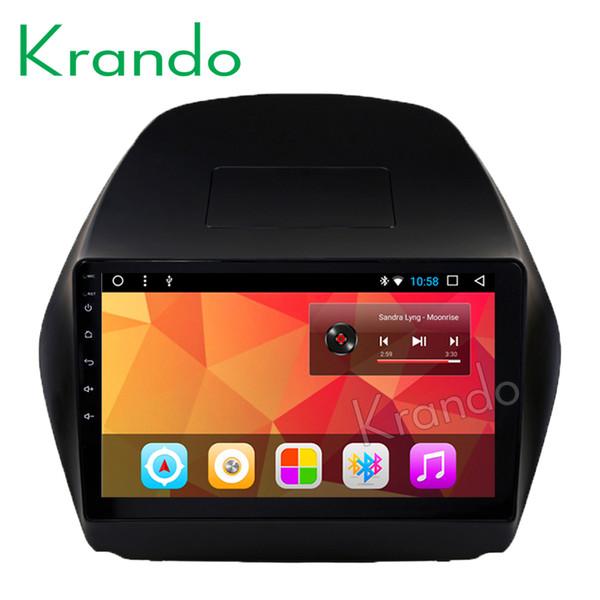 "Krando Android 8.1 9"" IPS Big screen car multimedia system for HYUNDAI TUCSON IX35/TUCSON IX 2009-2014 navigtaion GPS wifi BT car dvd"